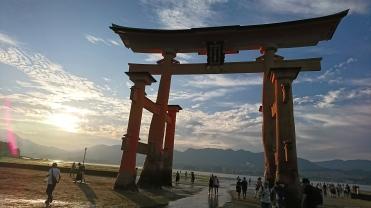 日本:宮島神社