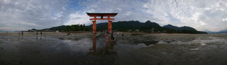 日本:嚴島潮間帶